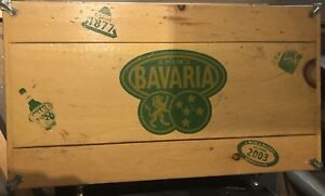 Bavaria wood cooler, tin on the inside