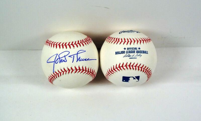 John Thune Senator SD Signed Autograph MLB Baseball COA