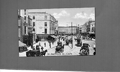 Ireland Cork St Patricks Street tinted cards unposted card A065