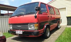 1989 Toyota Hiace Van V6 AUTO Morpeth Maitland Area Preview