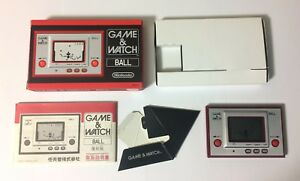USED Club Nintendo Limited Game & Watch BALL JAPAN import Japanese G and W