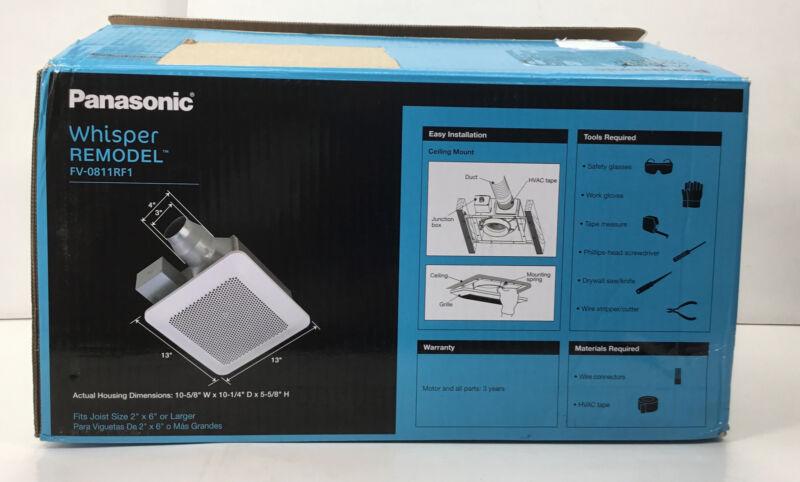 Panasonic - Whisper Remodel, Ventilation Fan with Pick-A-Flow