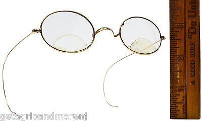 Vintage GOLD FILLED EYEGLASSES Prescription Bifocals CF or CE? WIRE FRAMES (Fill Eyeglass Prescription)