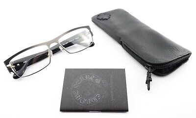 CHROME HEARTS Brille FRUM MBKG 57[]16 137 Hollywoood Eyewear Black *Full Set