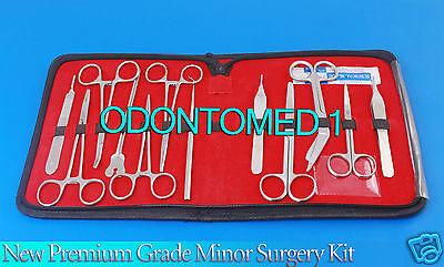 New Premium Grade Minor Surgery Set 23 Pieces Surgical Instruments Kit Ds-776