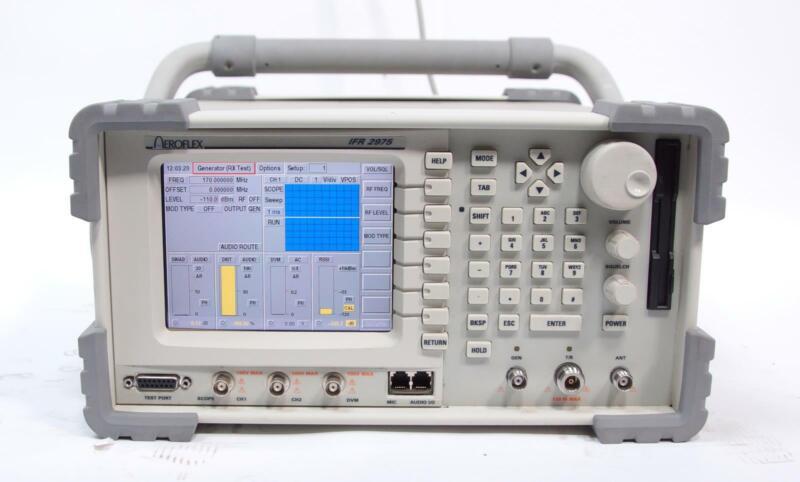 Aeroflex / IFR 2975 Wireless Radio Communications Test Set AS-IS