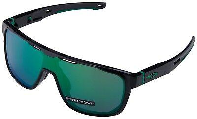 Oakley Crossrange Shield Sunglasses OO9387-0331 Black Ink | Prizm Jade Lens BNIB