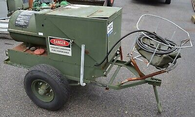 Eas Portable Bt400-41 Diesel Kerosene 316000 Btu Forced Air Aircraft Heater