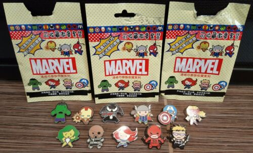 Marvel Mystery Pin Collection Lot of 11 Different Pins Shanghai Disney Exclusive