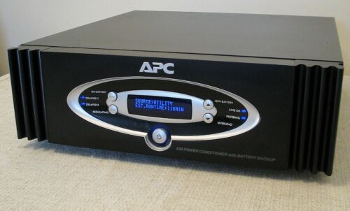 APC S20 Power Supply Conditioner & Battery Backup NEW BATTERIES 1.25kW network