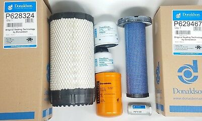 Bobcat S160 S185 S205 Wkubota Eng. Interim Tier 4 Maintenance Filter Kit - Fs
