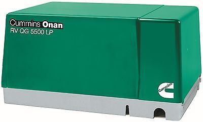 Brand New Cummins Onan 5.5 Hgjab-1270 Rv Generator Set Rv Qg 5500 Lp Propane