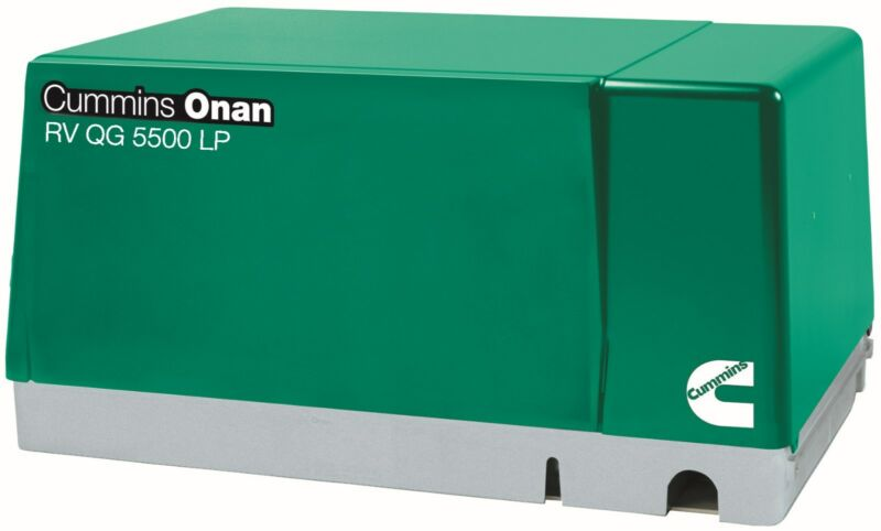NEW Cummins Onan 5.5 HGJAB-7103 RV Generator Set Quiet Gasoline Series RV QG 5kW