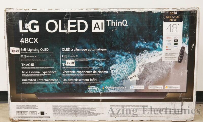 "LG OLED48CXPUB 48"" CX Series 4K Smart OLED TV"