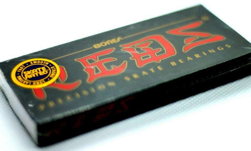 Bones Reds Skateboard Bearings 8 Pack - New - Sealed - Free Shipping