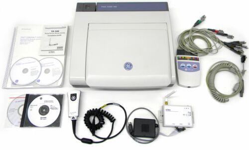 GE MAC 5500 HD ECG  w/ Cam 14 HD, BARCODE, WIFI, LAN, COLOR, DIAG, HDMD MORE!