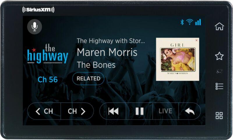 SiriusXM Tour Radio with 360L and Vehicle Kit - Black