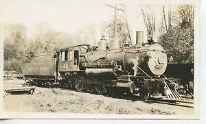 7G229 RP 1935 NORTHERN PACIFIC RAILROAD ENGINE #50 OLYMPIA WA