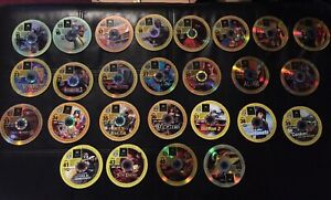 Collection of xbox demo discs