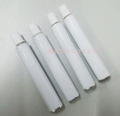 100x5ml 70mm Aluminum Empty Toothpaste Tube Unsealing Button Needle Cap Unsealed