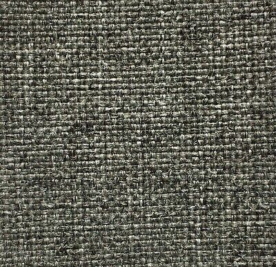 Best Grey Gray Tweed Fabric Upholstery Mid Century Modern Vintage Danish Retro