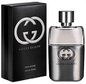 78eac0775 Gucci Guilty Pour Homme 50ml Eau De Toilette Spray for Men Nick ...