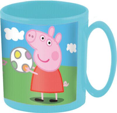 Mug Tasse Plastique Micro-ondes Peppa Pig 350 ML