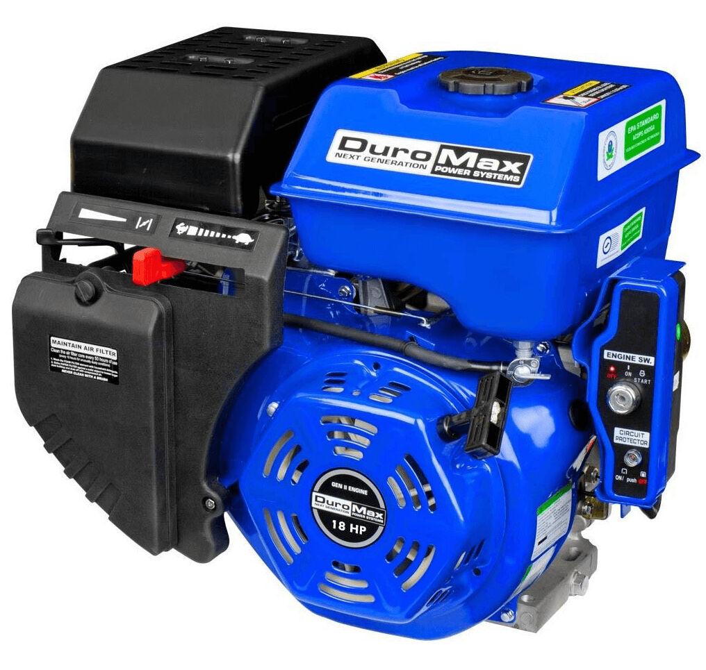 Duromax Xp18hpe 18 Hp Electric Start Power Engine Motor Ebay Gasoline Powered Diagram Stock Photo