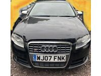 2007-07 Audi S4 Quattro 4.2 Petrol Automatic Saloon (Spare or Repair).