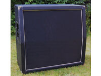 Speaker Cabinet 4x12 angled, unloaded (no drivers)