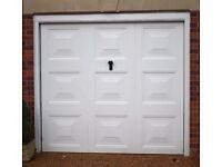 Garage Door Up and Over steel