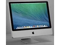 Apple iMac 24 all in one desktop - Excellent condition with keyboard and mouse