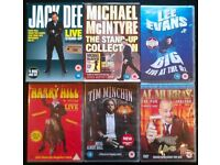 6 New DVDs: Assorted Stand Up Comedy Shows (10 disks total)