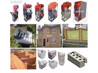 Equipment for the Production: LEGO Bricks, Blocks, Paving Slabs.