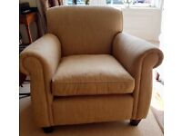 Laura Ashley Exmore Armchair (also selling matching sofa and leather sofa)