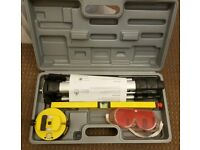 Silverline laser level kit - new