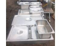 Job lot of catering equipment