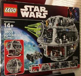 *SOLD* LEGO Star Wars Deathstar Mostly Unopened.