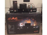 Fatman iTube Hybrid Valve Amp & iPod Dock - Carbon Edition