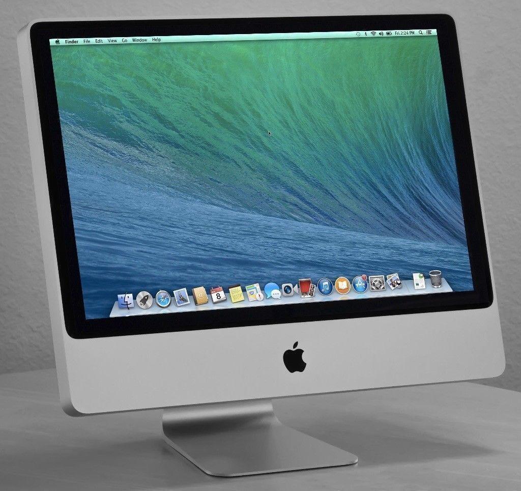 Apple iMac 24' 2.66Ghz 4Gb 640GB HD VectorWorks Capture One Pro DaVinci Resolve Studio Final Cut Pro
