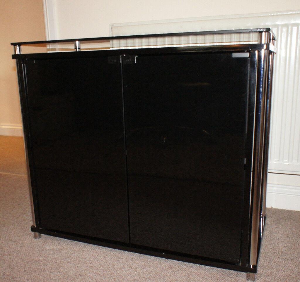 2 Door Sideboard Black Glassrt Of The Matrix Range From Argos