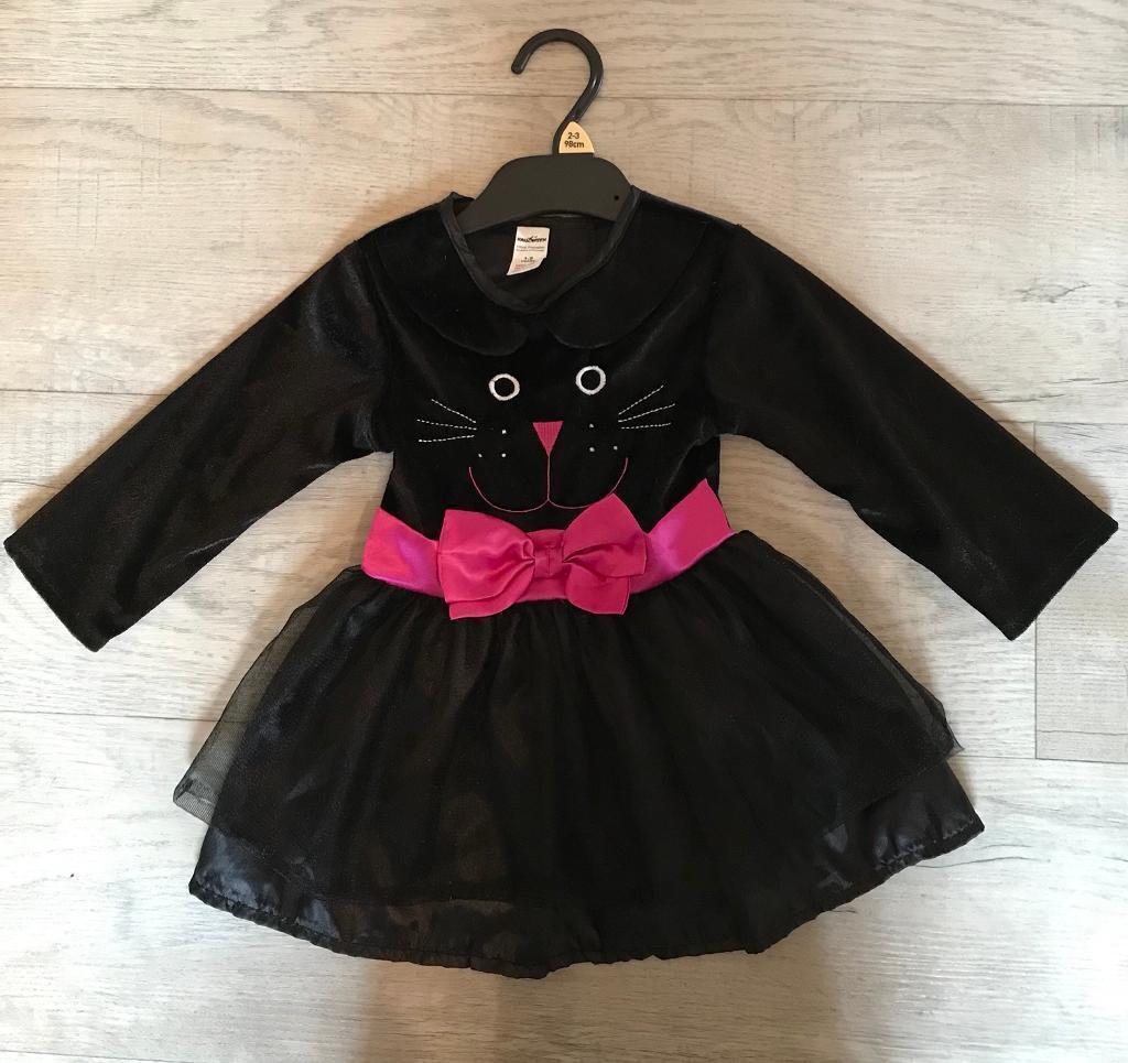 Halloween costume - cat dress age 1-2