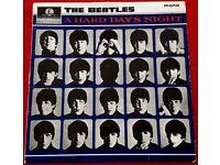 BEATLES - A HARD DAYS NIGHT - MONO LP - ORIGINAL 1964