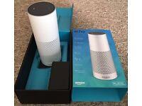 White Edition Amazon Echo Alexa Voice Home Speaker