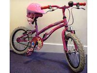 ::::::: KIDS BIKE APOLLO POPSTAR GIRLS BICYCLE incl. A NEW HELMET :::::::