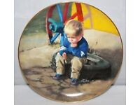 the thinker highly collectable plate