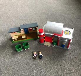 Postman Pat sorting office toys