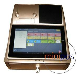 New coming, Mini POS Digital Cash Register System. Just touch then Deal!