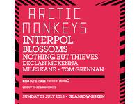 3 x TRANSMT tickets – Arctic Monkeys