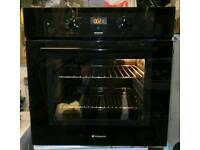 Hotpoint BS43/1 built in single electric oven for sale.
